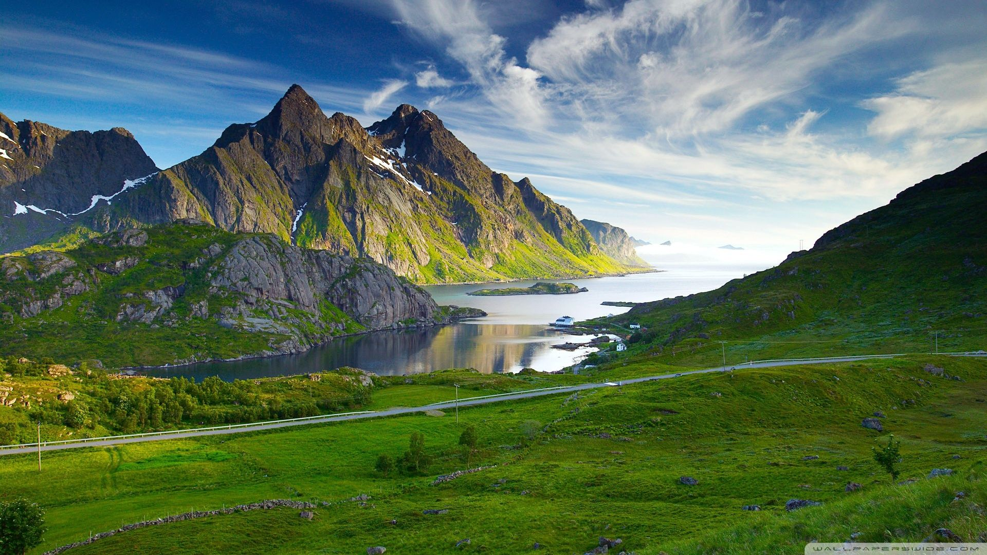 Scandinavian Landscape Wallpapers Top Free Scandinavian