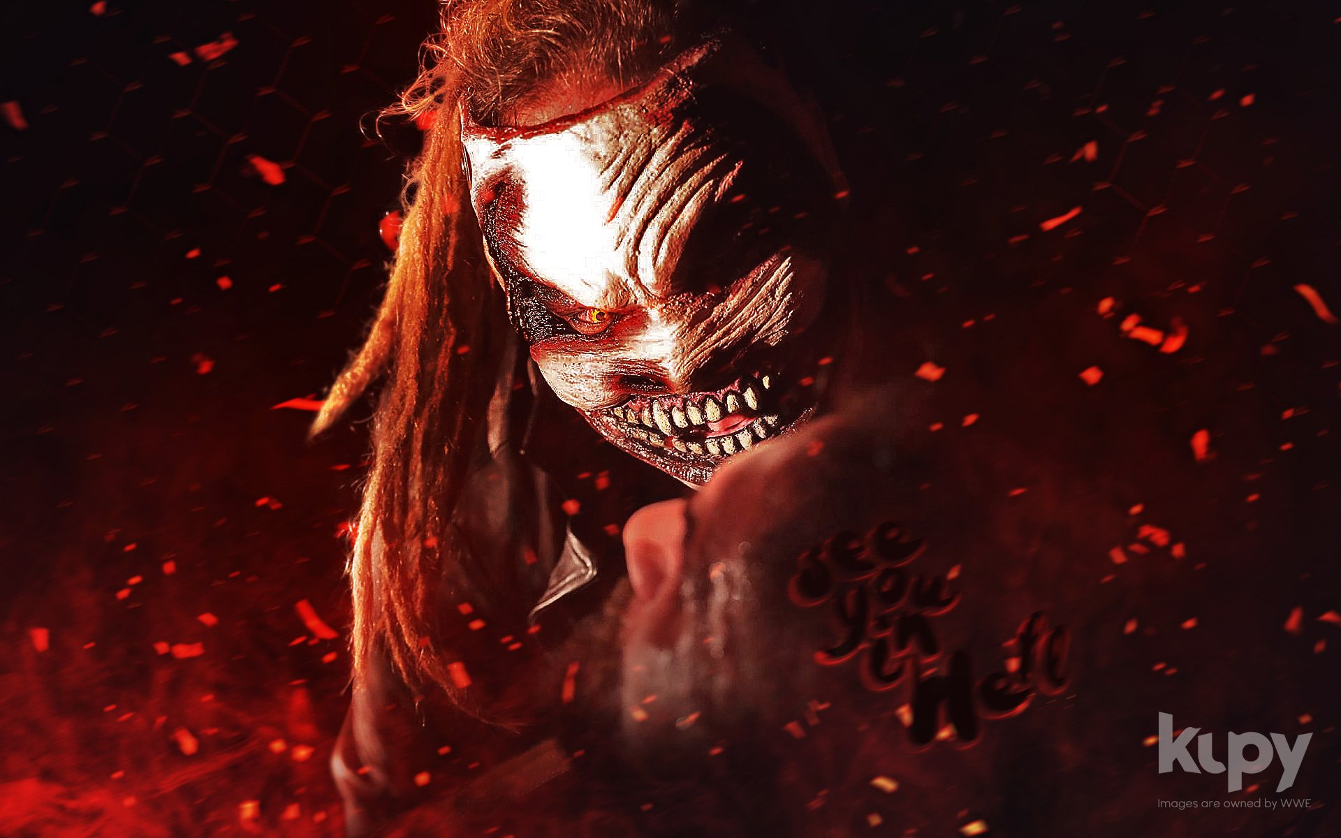 The Fiend Wallpapers Top Free The Fiend Backgrounds Wallpaperaccess