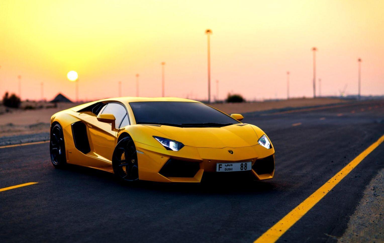 Yellow Car Hd Wallpapers Top Free Yellow Car Hd Backgrounds Wallpaperaccess