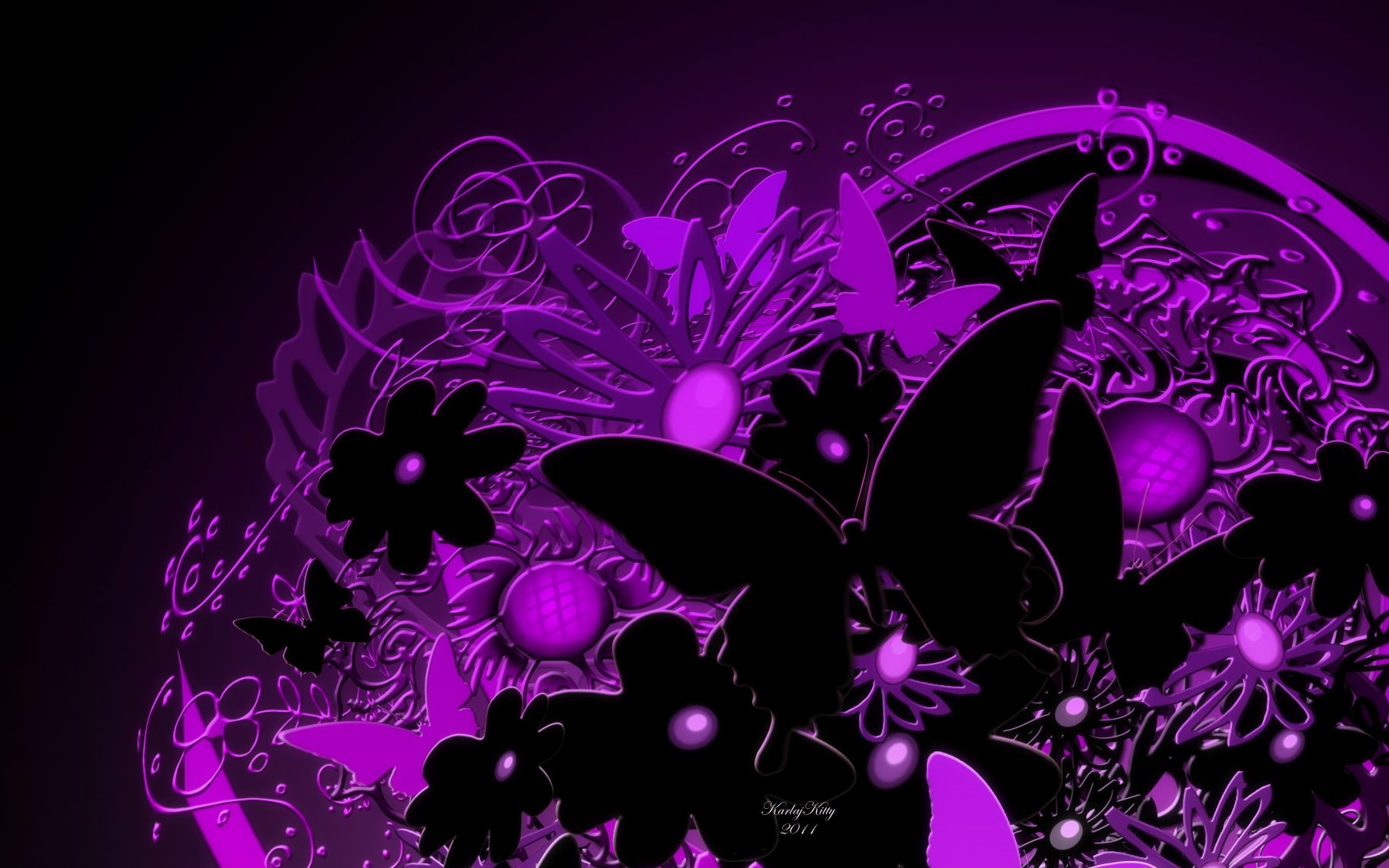 Black And Purple Butterfly Wallpapers Top Free Black And Purple Butterfly Backgrounds Wallpaperaccess