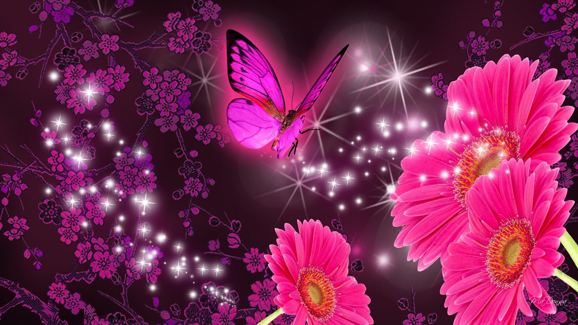 Pink Butterfly Wallpapers - Top Free Pink Butterfly ...