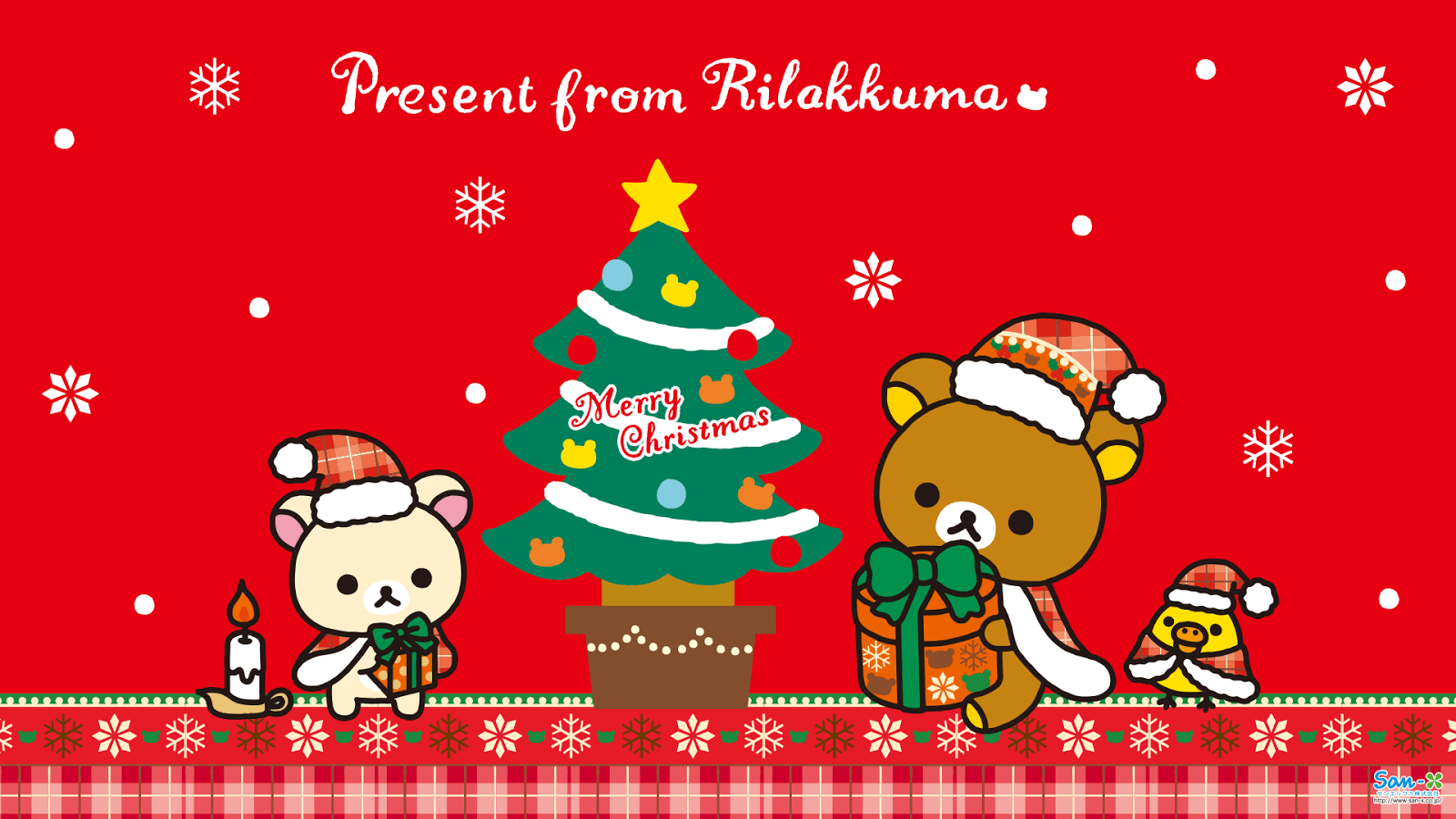 45 Best Free Rilakkuma Christmas Wallpapers - WallpaperAccess