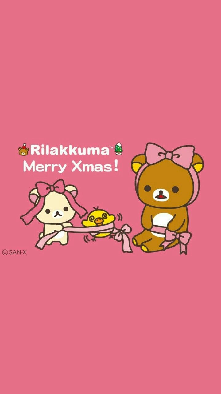 45 Best Free Rilakkuma Christmas Wallpapers - WallpaperAccess