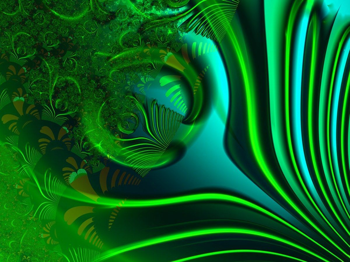 Abstract Art Green Wallpapers Top Free Abstract Art Green