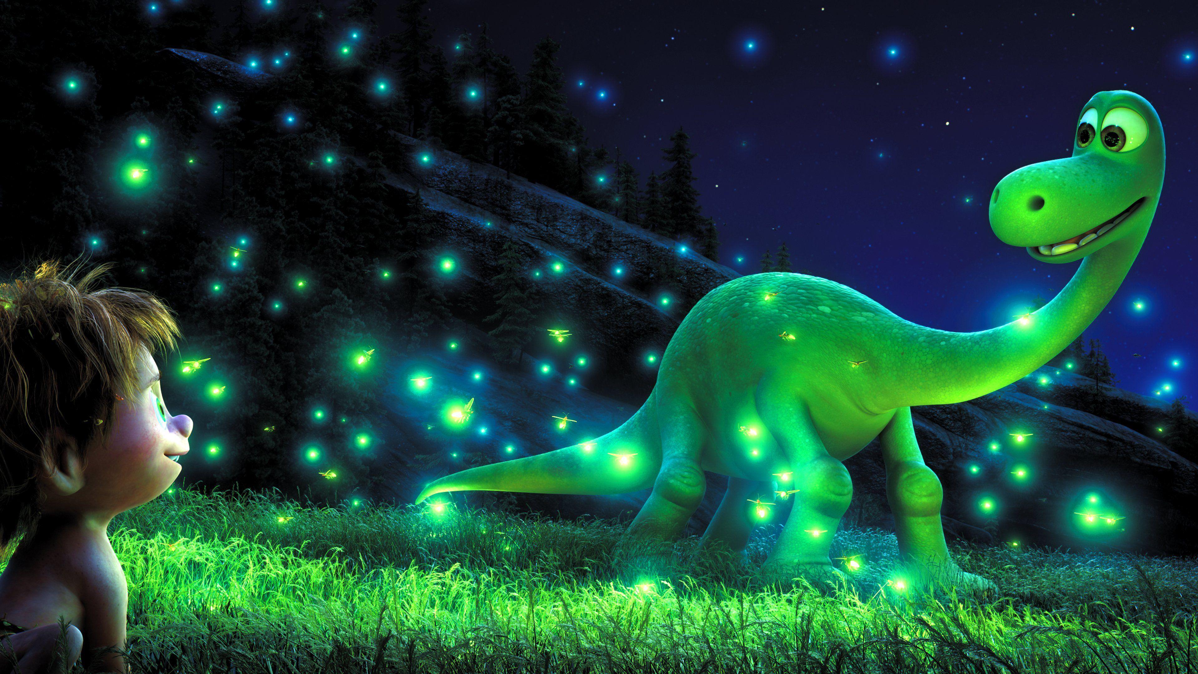 Hình nền và hình nền HD 3840x2160 The Good Dinosaur