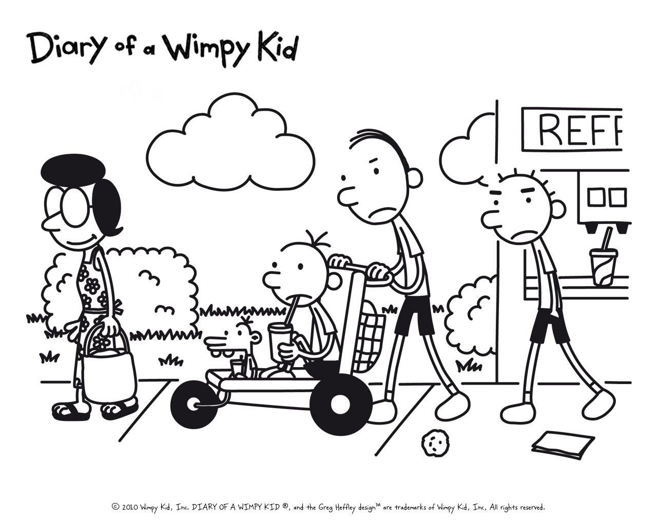 Diary Of A Wimpy Kid Wallpapers Top Free Diary Of A Wimpy Kid