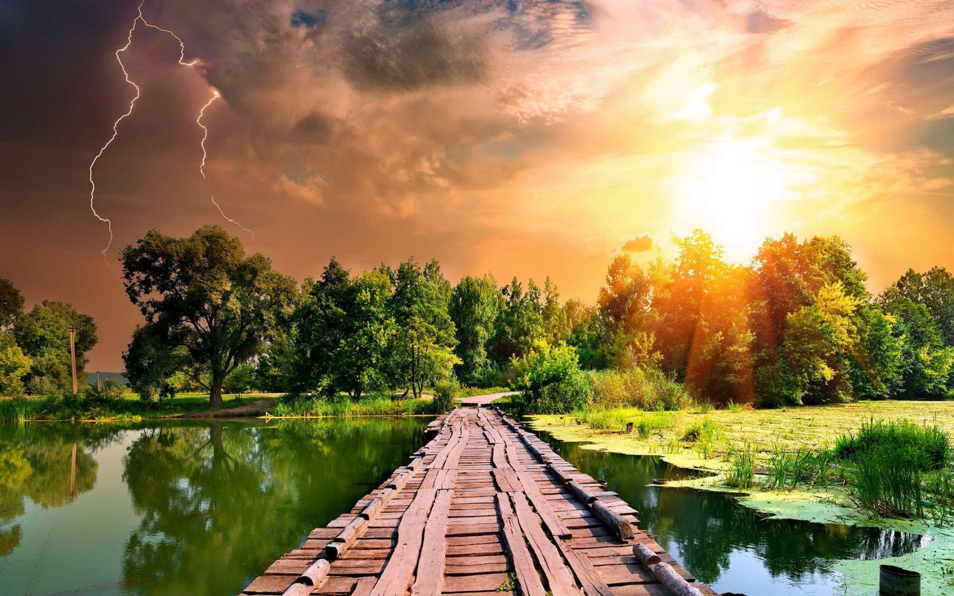 Hình nền 1920x1200 Chào buổi sáng thiên nhiên đẹp và ánh nắng mặt trời đá HD trên hình ảnh