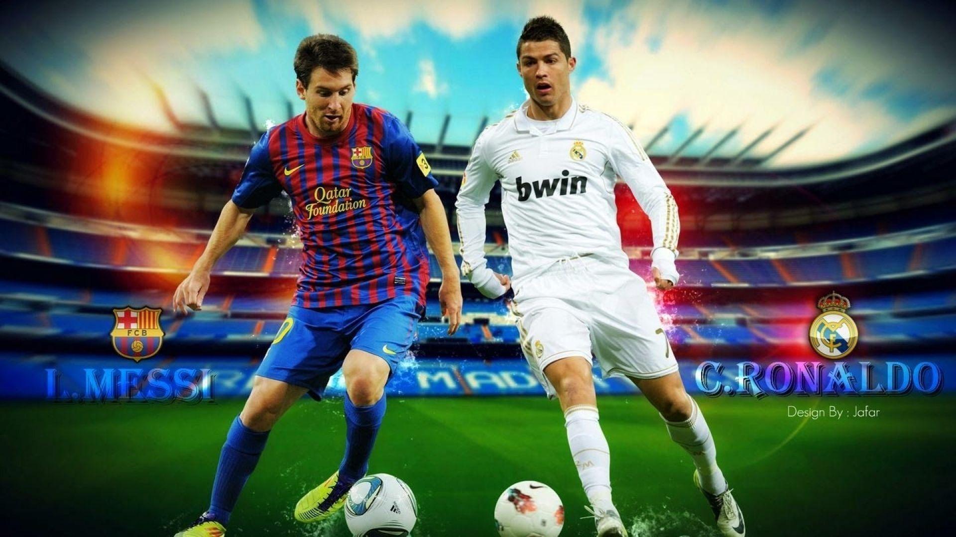 Messi And Ronaldo Wallpapers Top Free Messi And Ronaldo