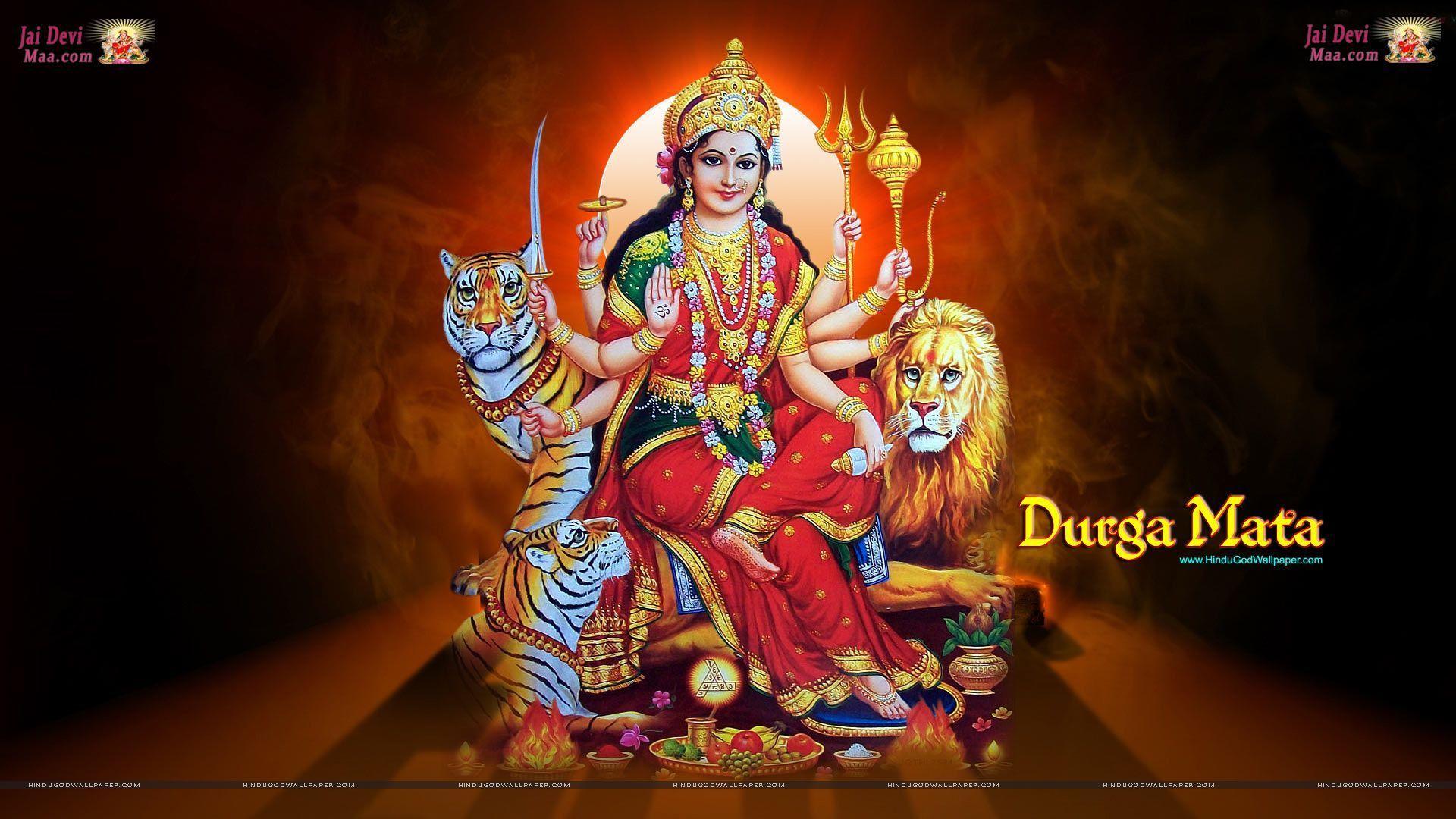 Durga Wallpapers Top Free Durga Backgrounds Wallpaperaccess