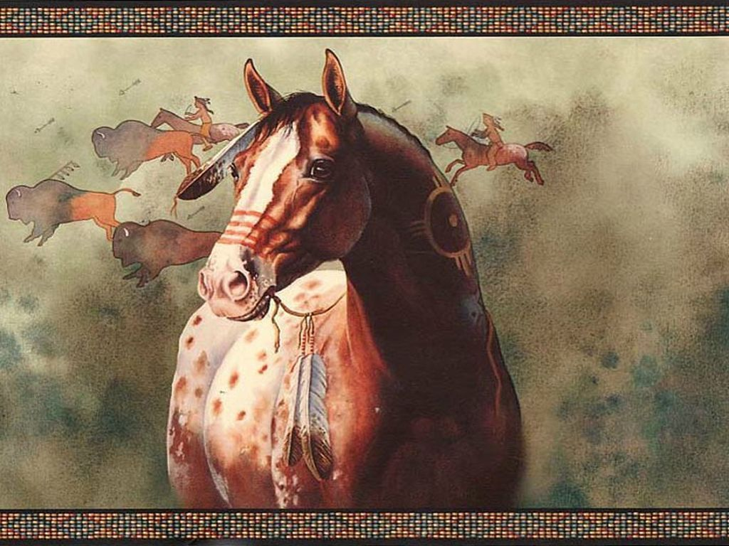 Native American Horses Wallpapers Top Free Native American Horses Backgrounds Wallpaperaccess