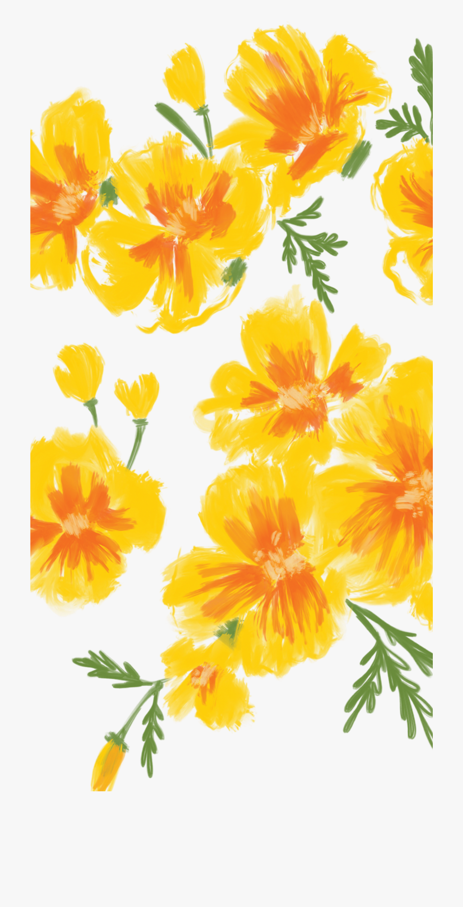 Yellow Flower Iphone Wallpapers Top Free Yellow Flower Iphone