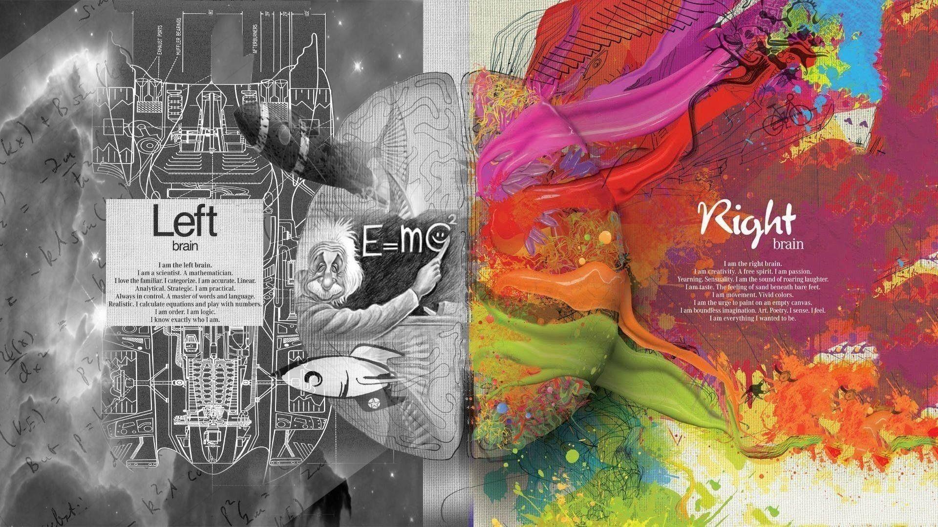 Left Brain Wallpapers Top Free Left Brain Backgrounds