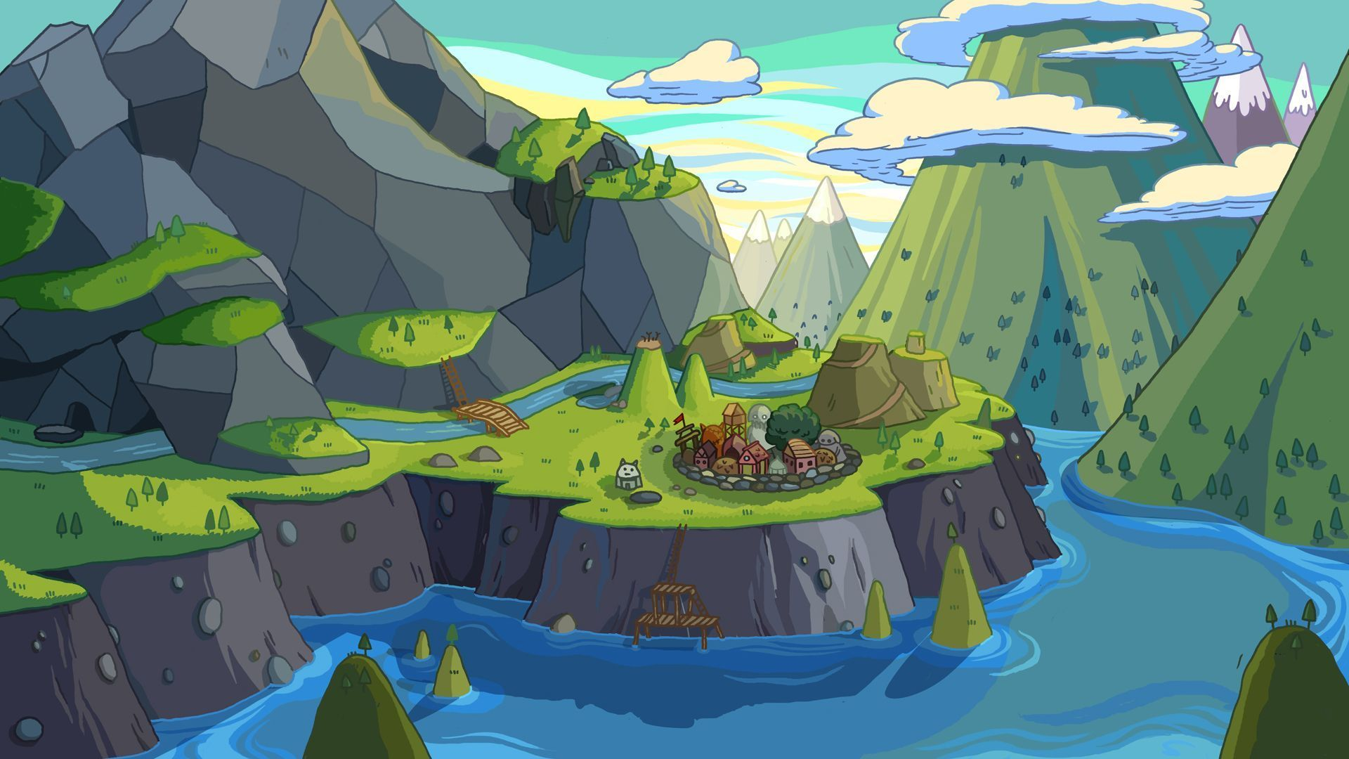 Adventure Time Computer Wallpapers - Top Free Adventure ...