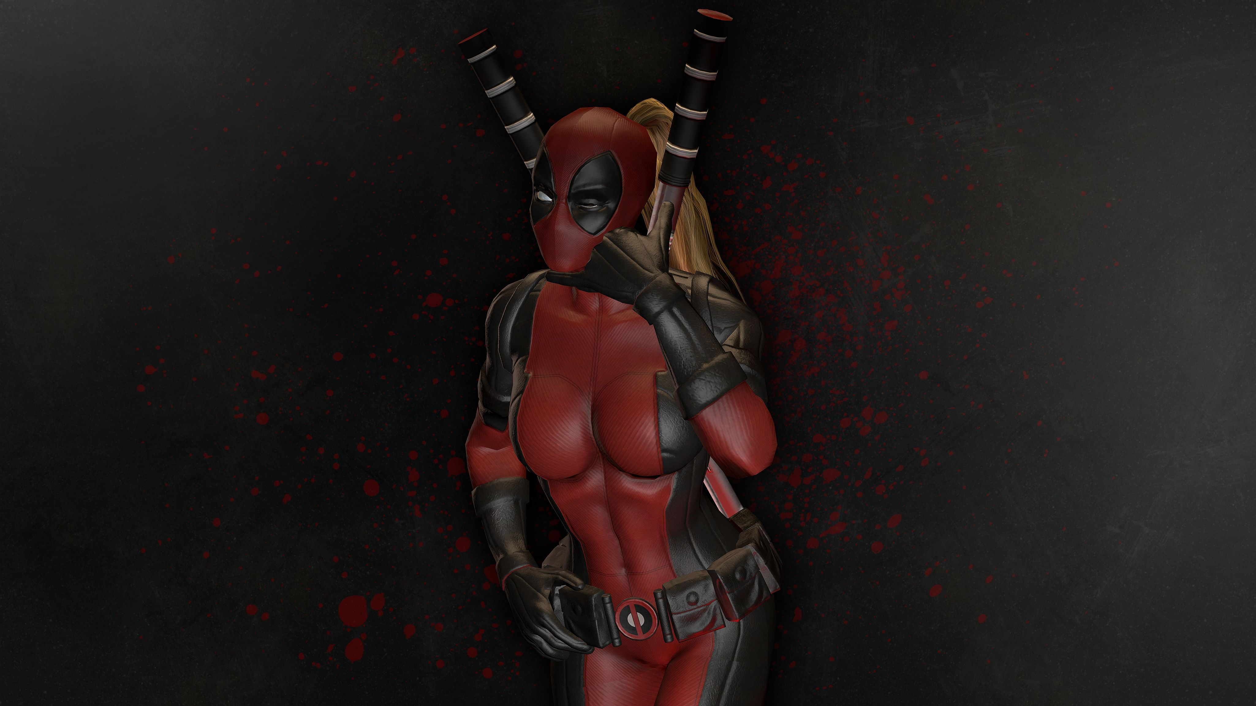 Lady Deadpool Wallpapers Top Free Lady Deadpool Backgrounds