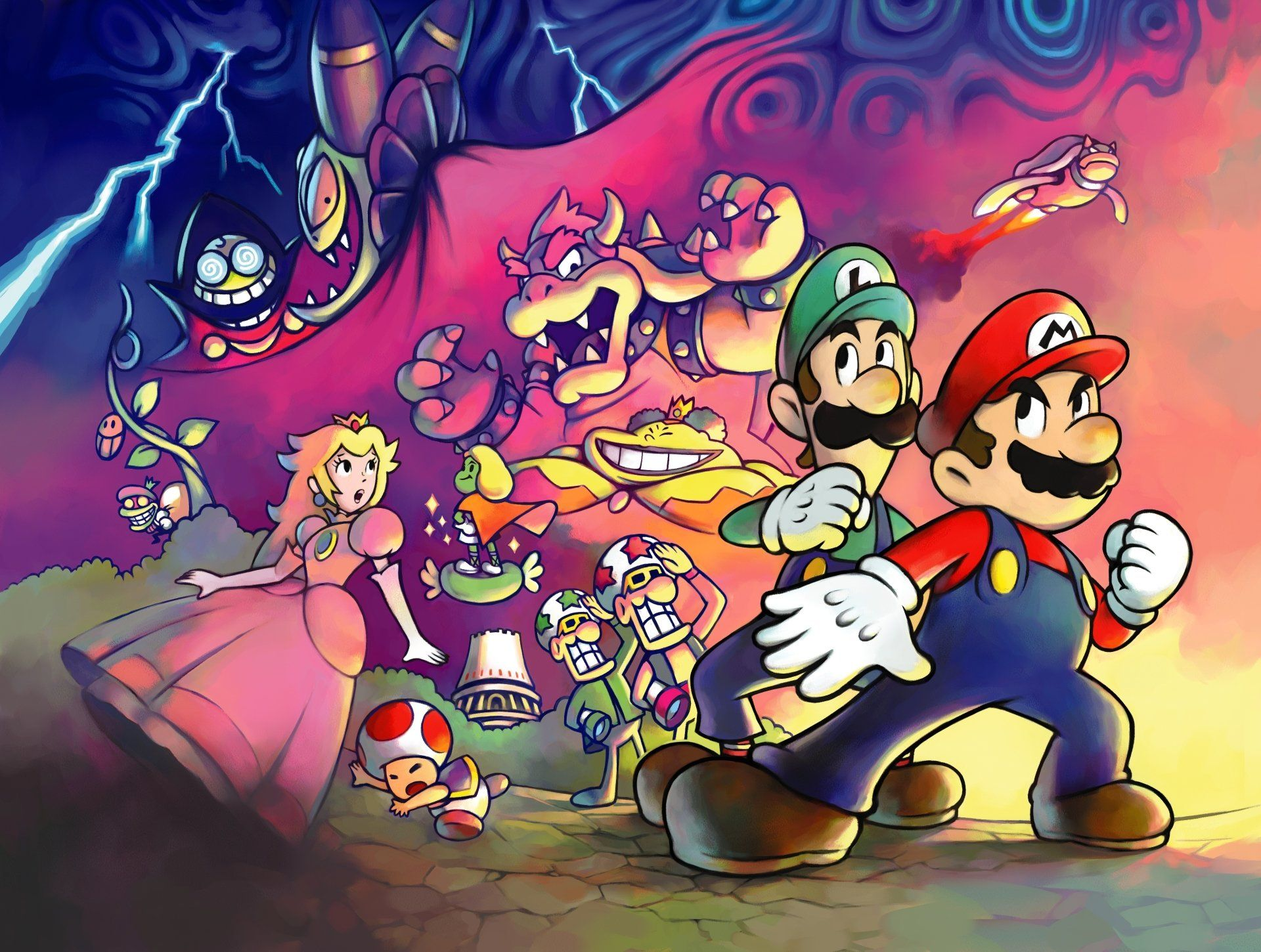 Mario And Luigi Wallpapers Top Free Mario And Luigi Backgrounds