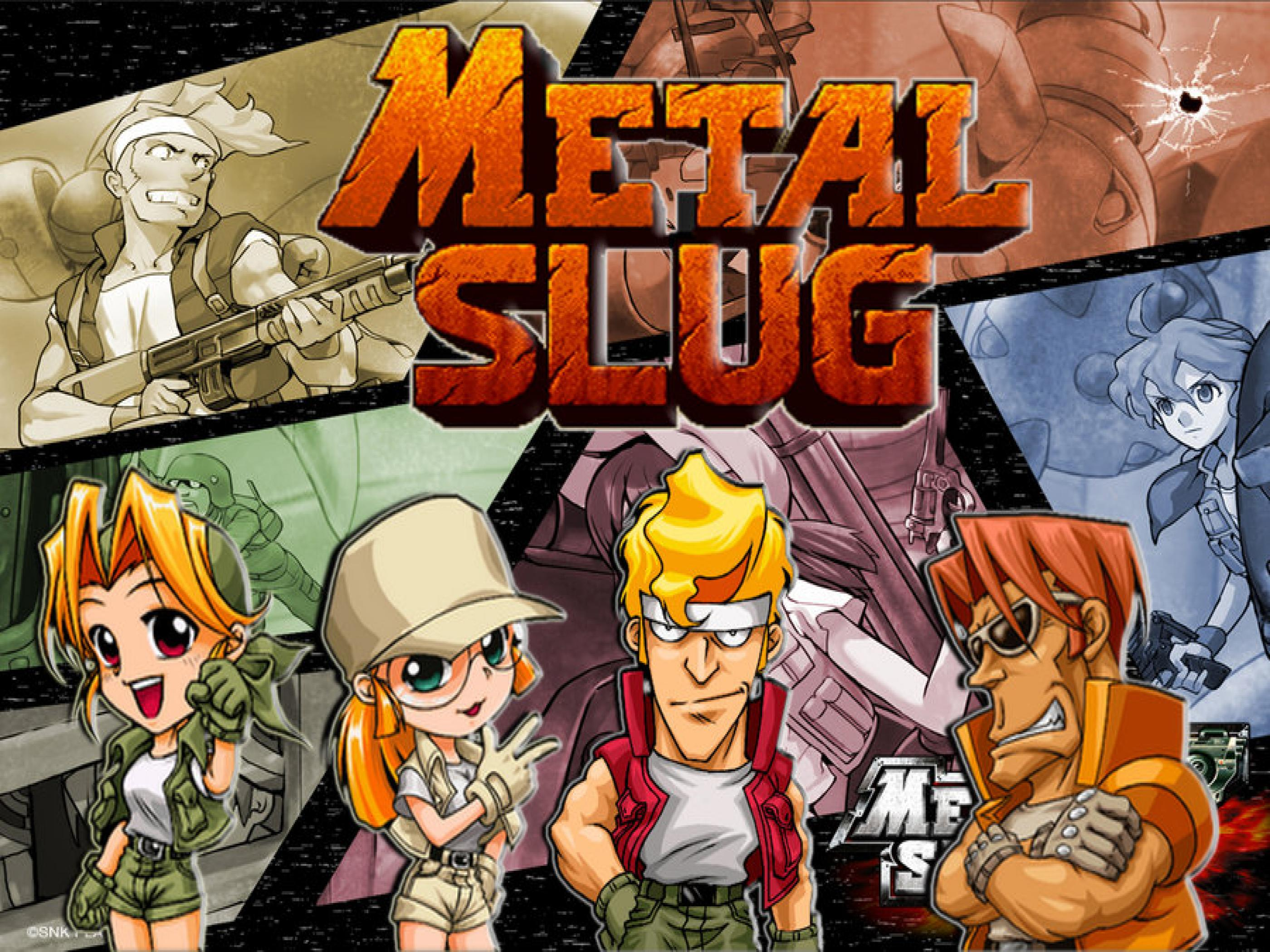 Metal Slug Wallpapers Top Free Metal Slug Backgrounds