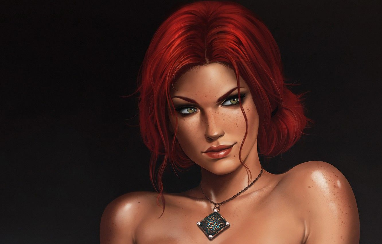 Triss sexy The Witcher: