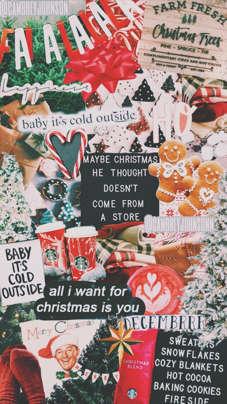 Christmas Vsco Wallpapers Top Free Christmas Vsco Backgrounds Wallpaperaccess