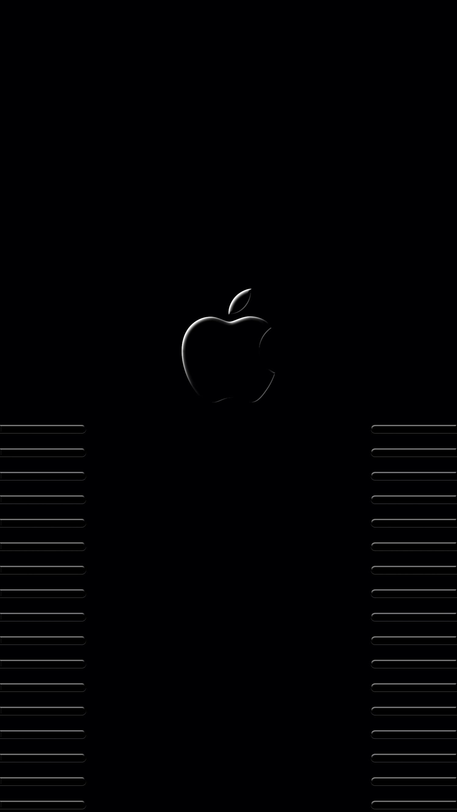 Black Apple Iphone Wallpapers Top Free Black Apple Iphone