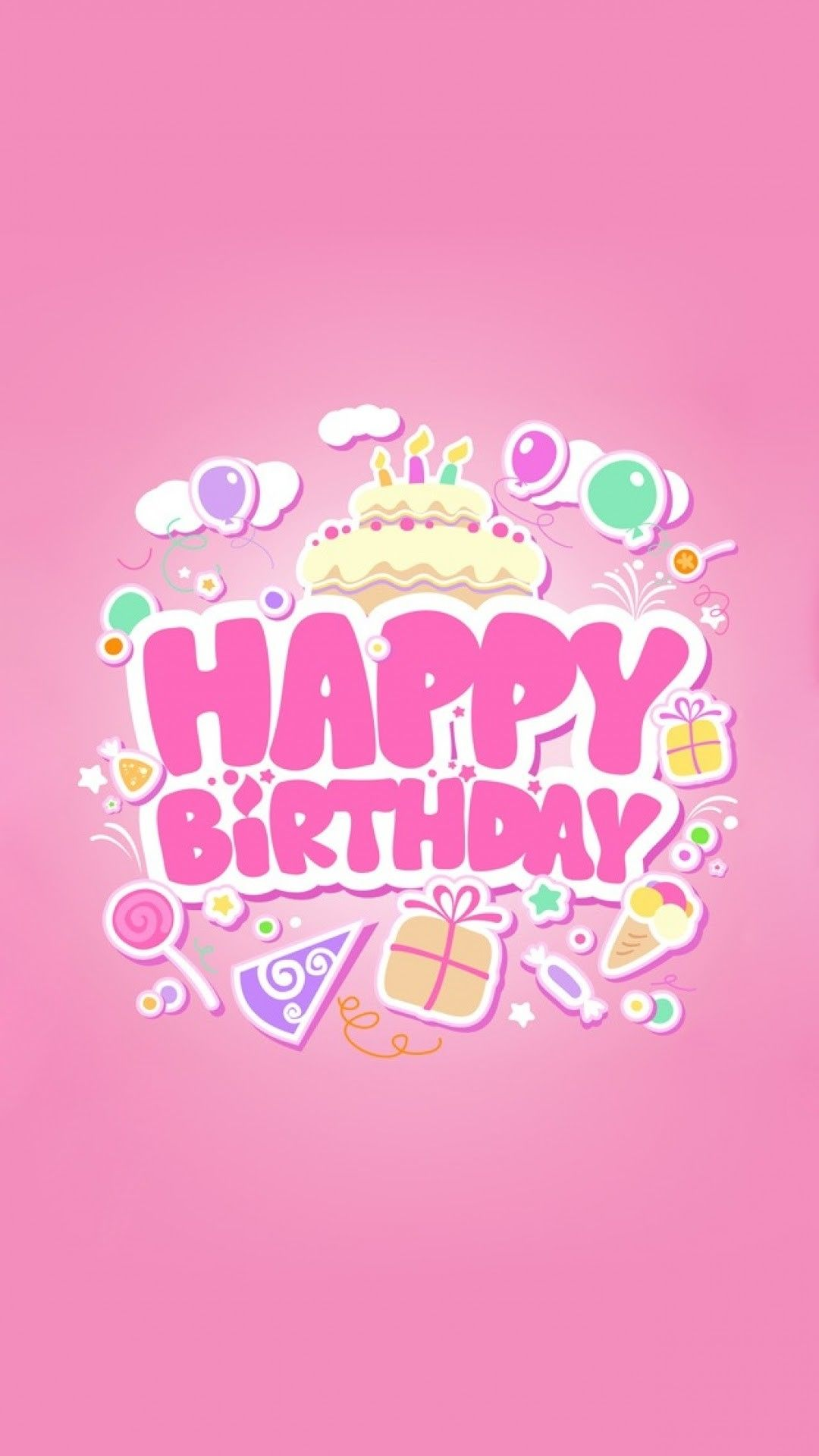 Happy Birthday Iphone Wallpapers Top Free Happy Birthday