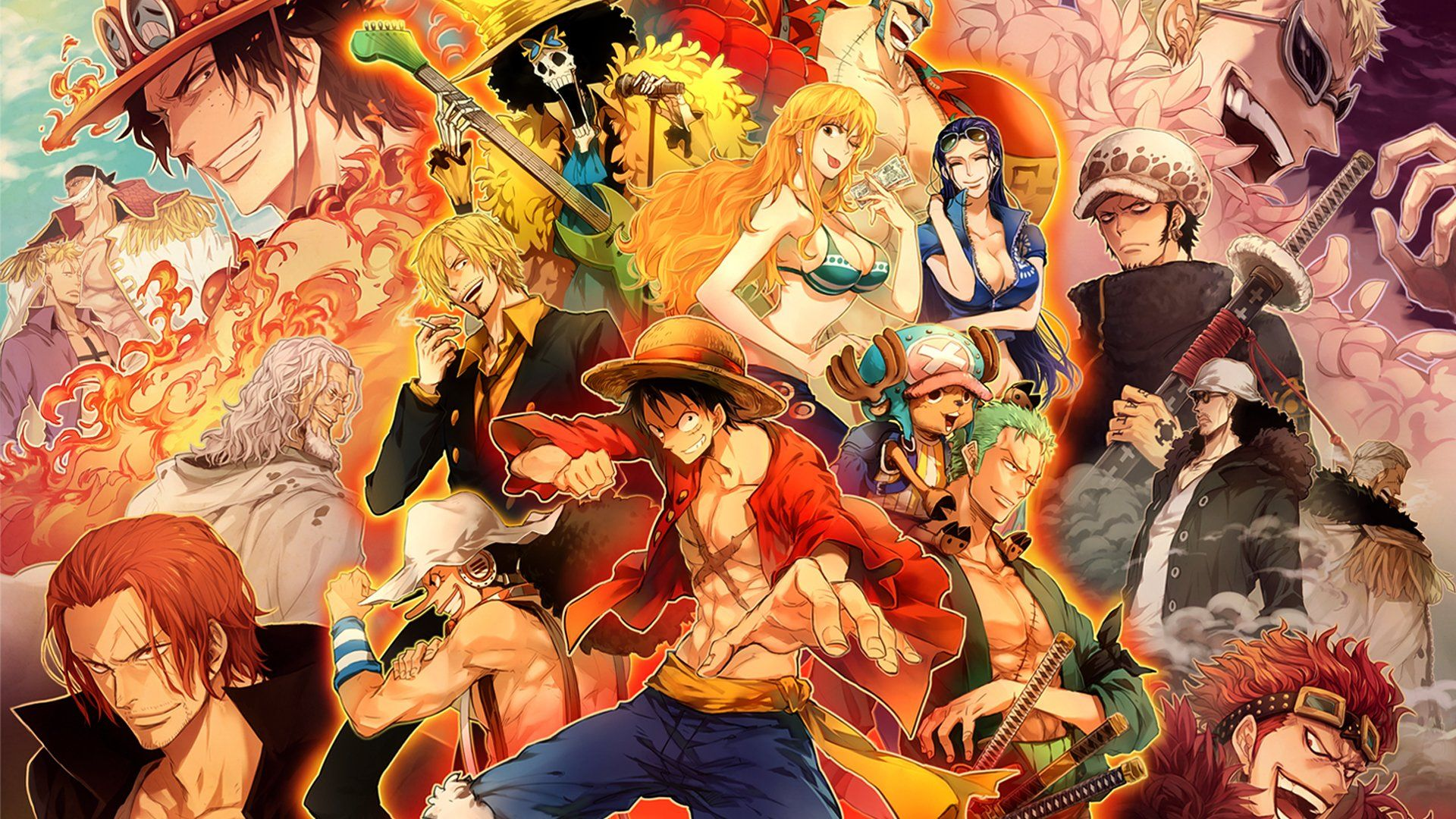 One Piece Wallpapers Top Free One Piece Backgrounds Wallpaperaccess