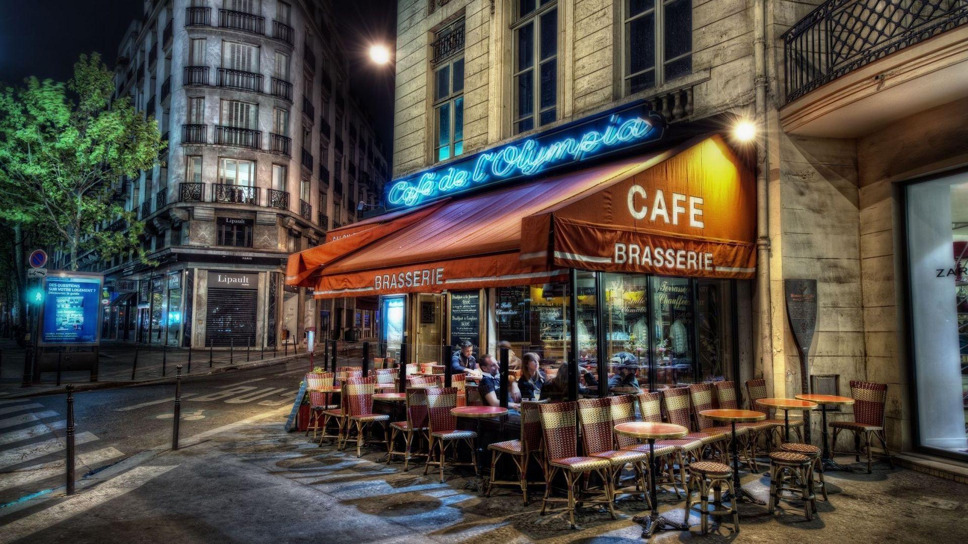 Paris Cafe Wallpapers Top Free Paris Cafe Backgrounds Wallpaperaccess