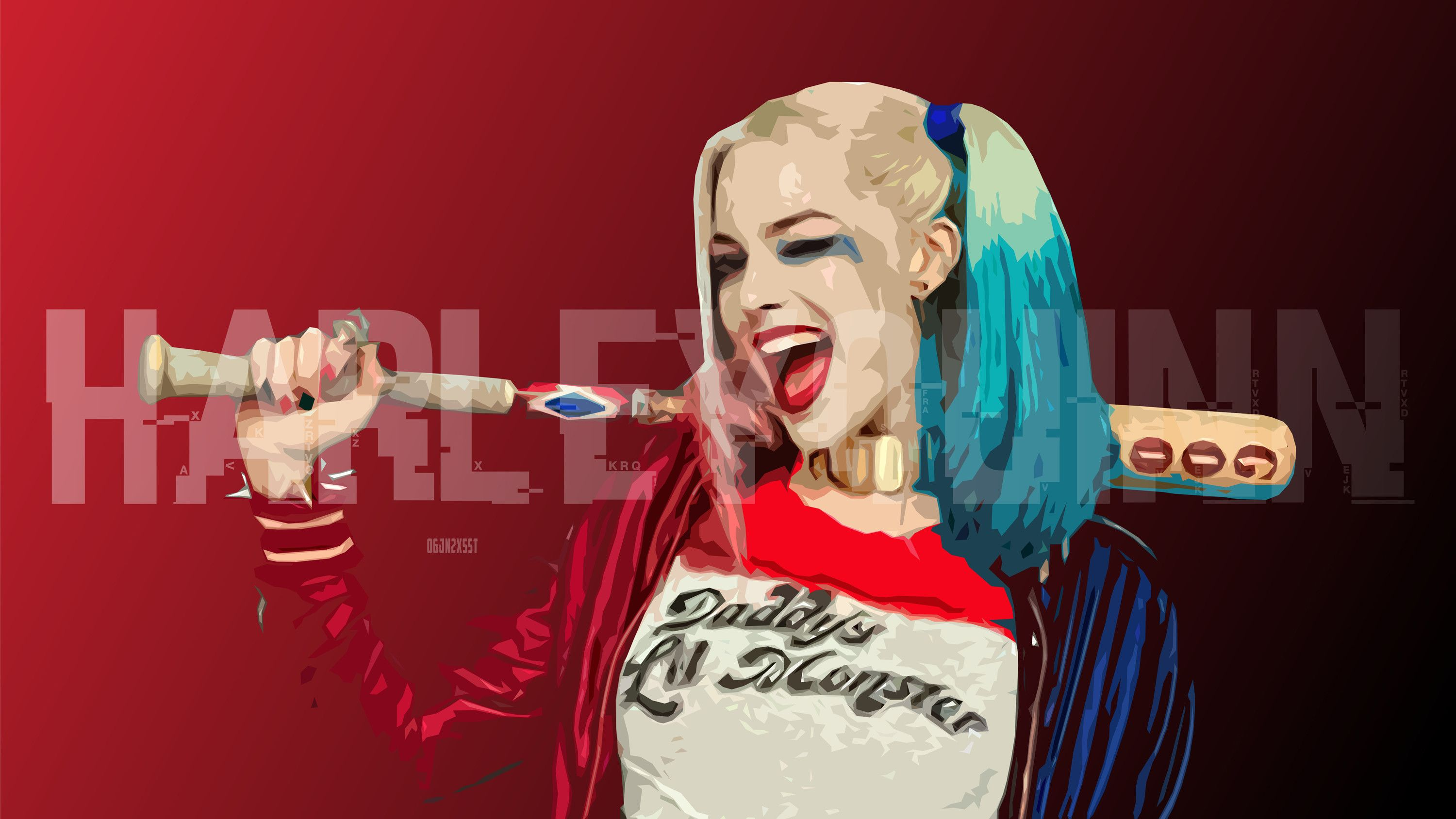 Margot Robbie Harley Quinn Wallpapers Top Free Margot Robbie Harley Quinn Backgrounds Wallpaperaccess