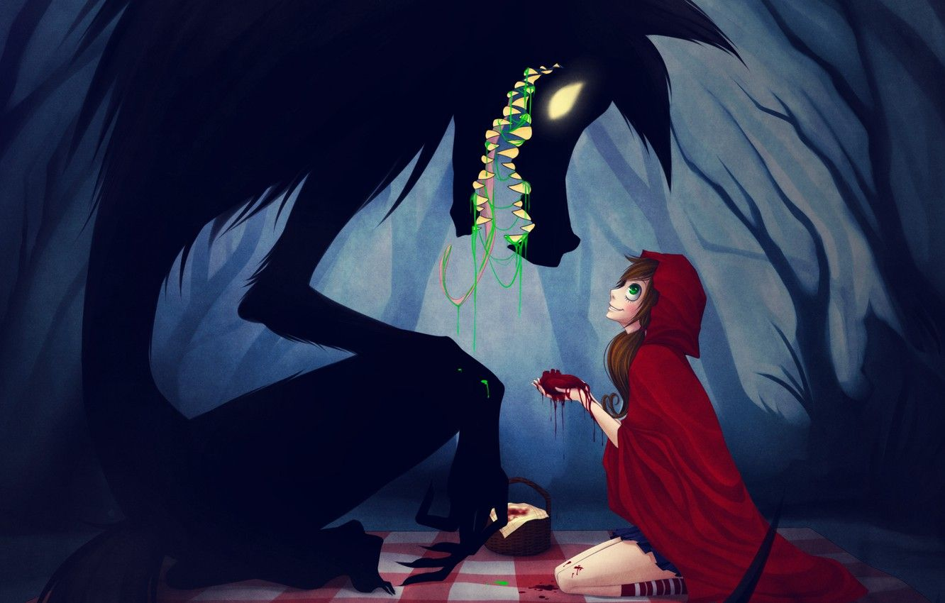 Anime Little Red Riding Hood
