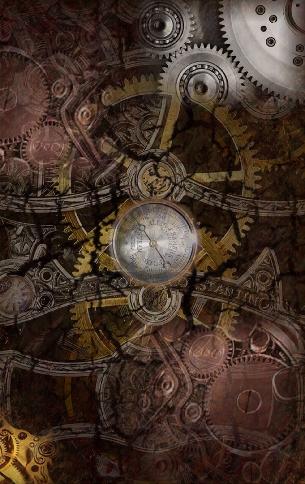 Steampunk Iphone Wallpapers Top Free Steampunk Iphone