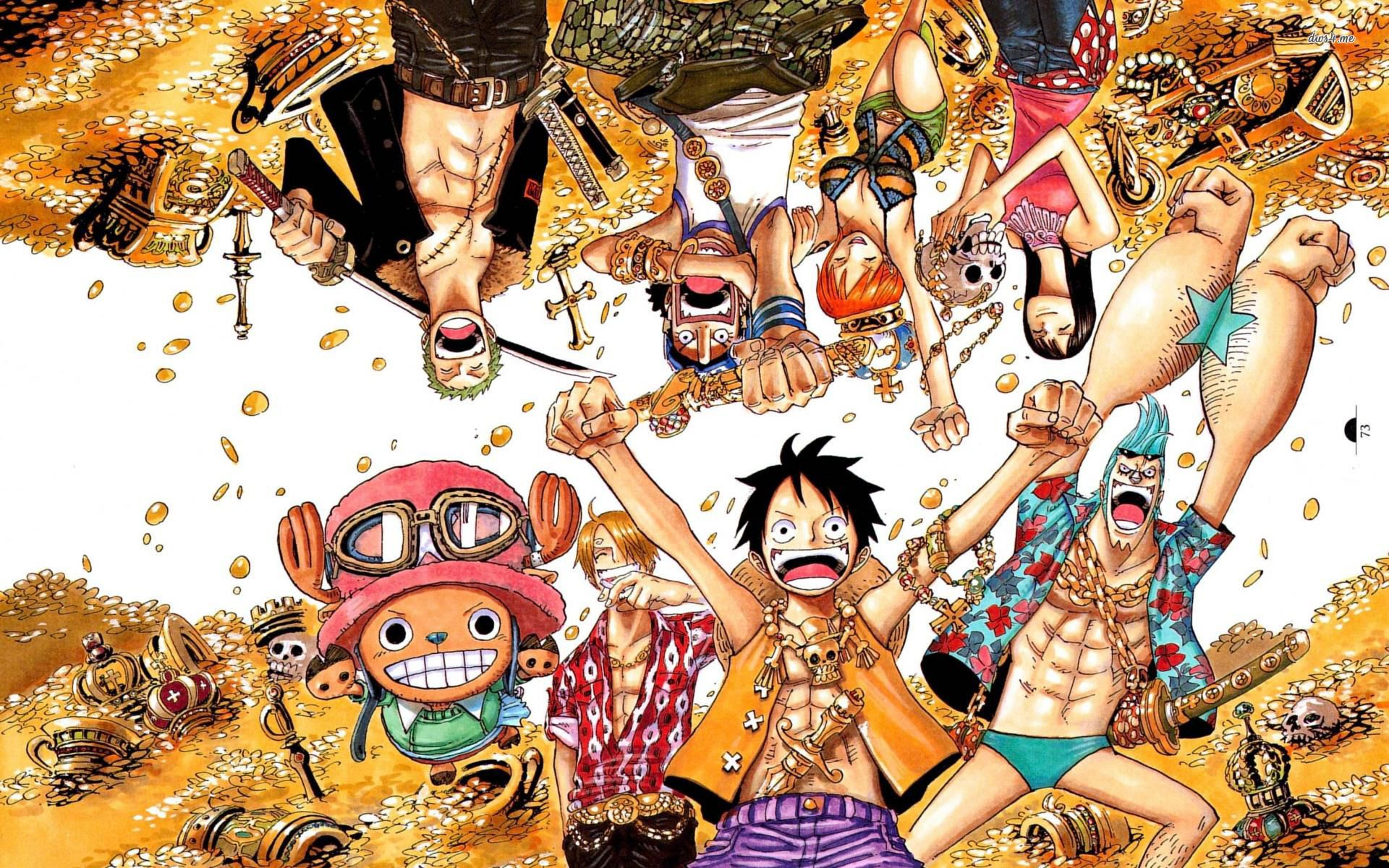 One Piece Anime Desktop Wallpapers Top Free One Piece Anime