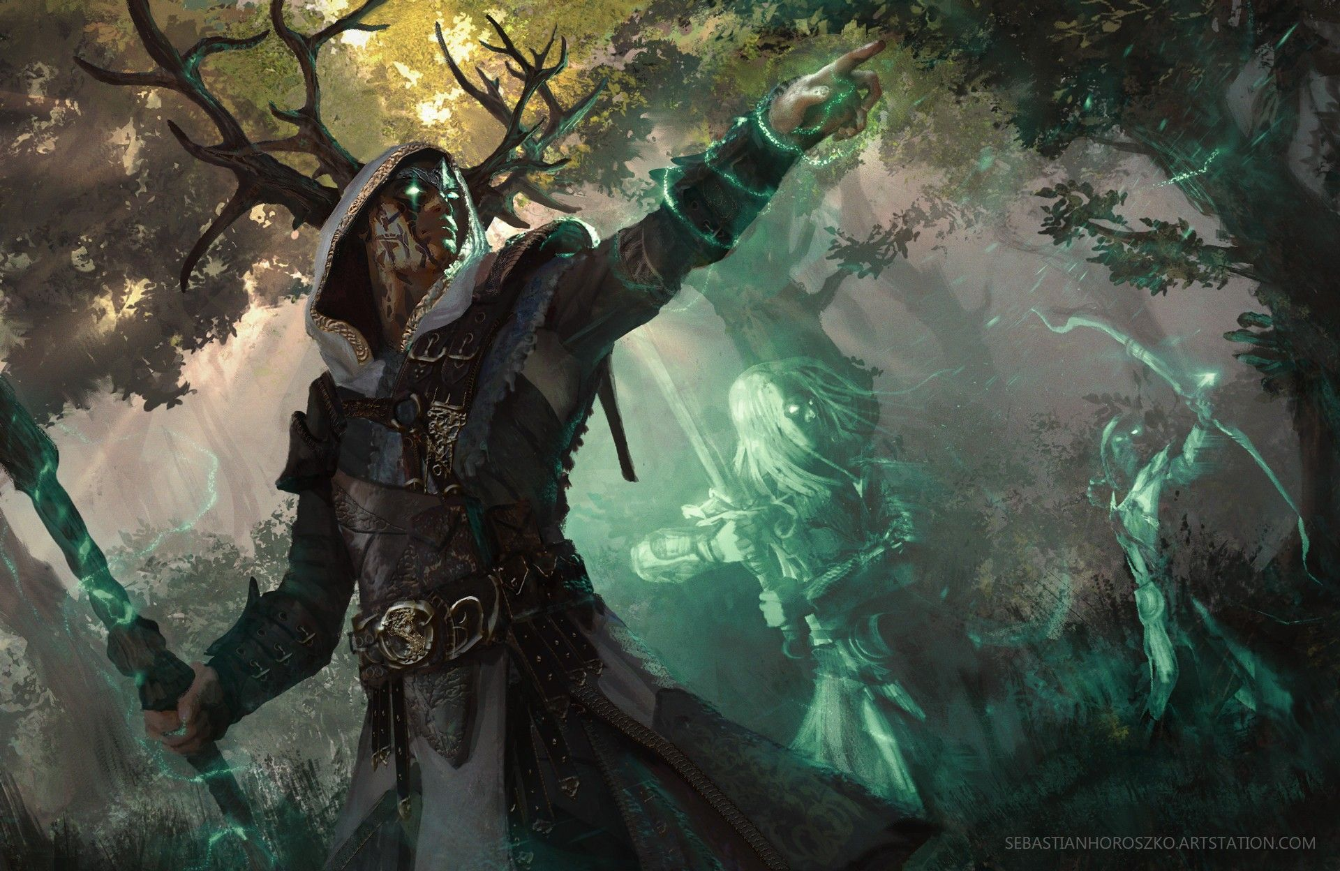 Druid Wallpapers Top Free Druid Backgrounds Wallpaperaccess