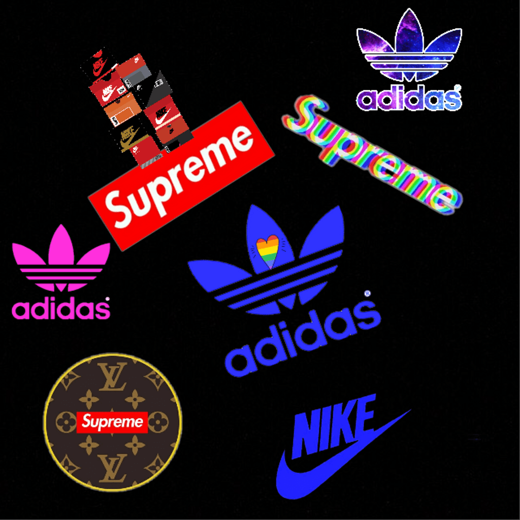 wallpaper nike adidas