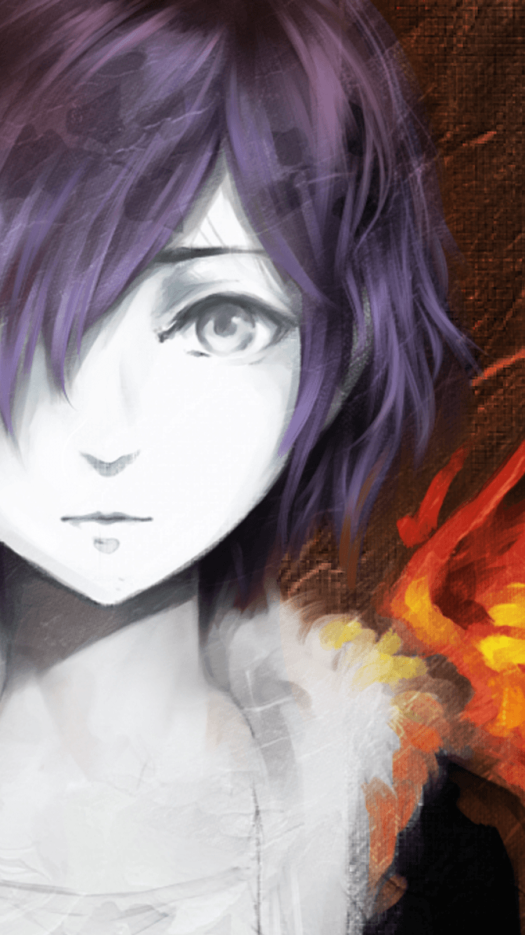 Touka Tokyo Ghoul Iphone Wallpapers Top Free Touka Tokyo Ghoul