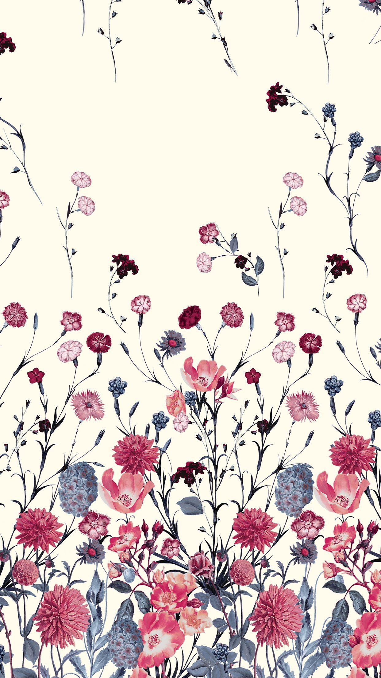 Flower Pattern Iphone Wallpapers Top Free Flower Pattern Iphone