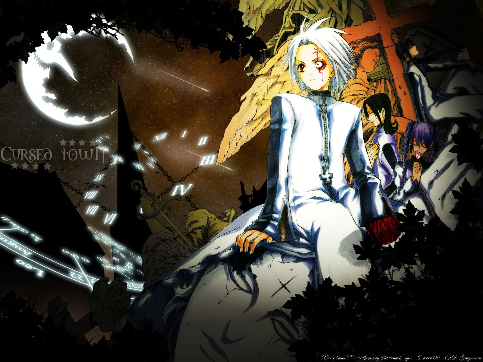 D Gray Man Wallpapers Top Free D Gray Man Backgrounds