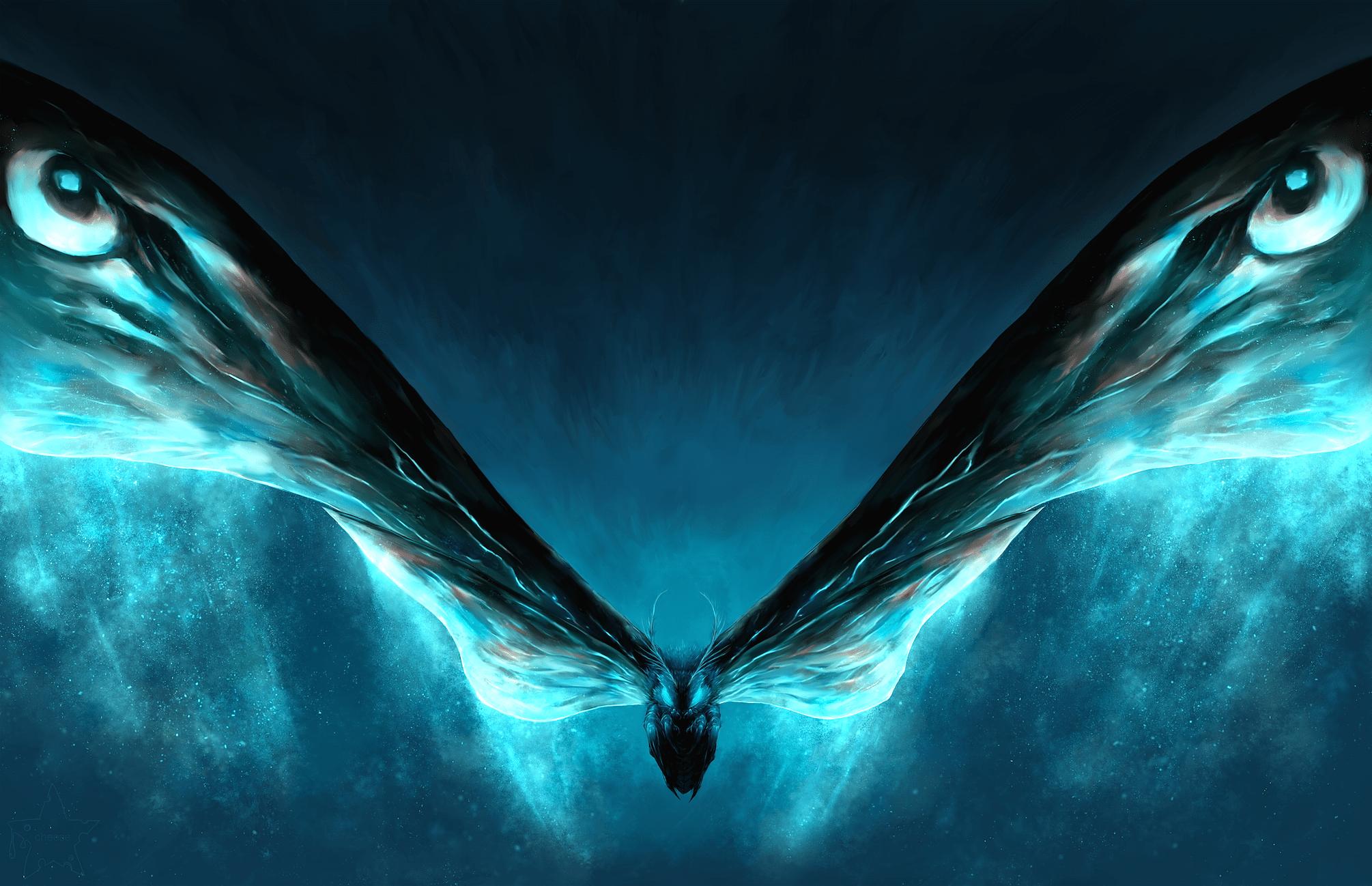 Mothra Wallpapers Top Free Mothra Backgrounds Wallpaperaccess