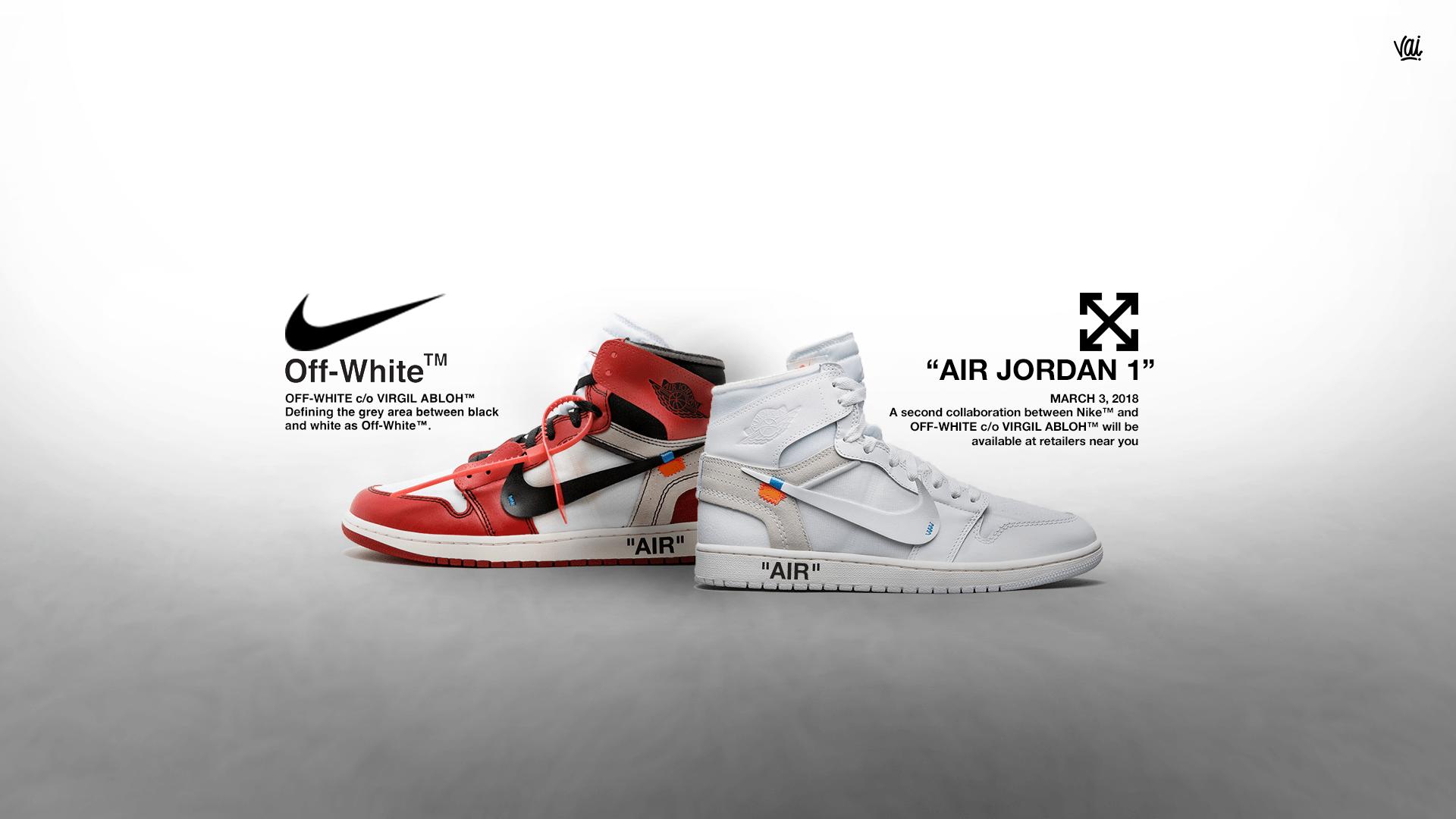 Saltar solar Problema  Nike Off White Wallpapers - Top Free Nike Off White Backgrounds -  WallpaperAccess