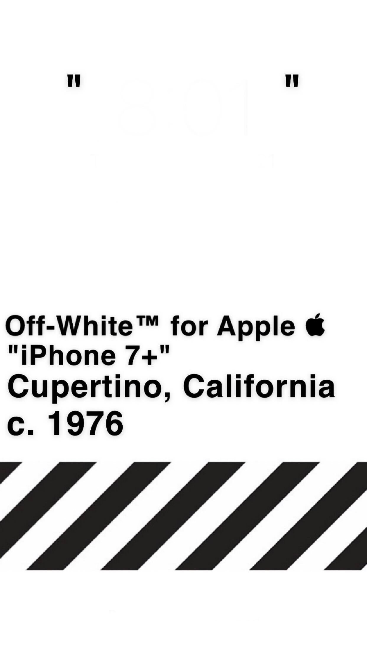 Off White Wallpaper Iphone