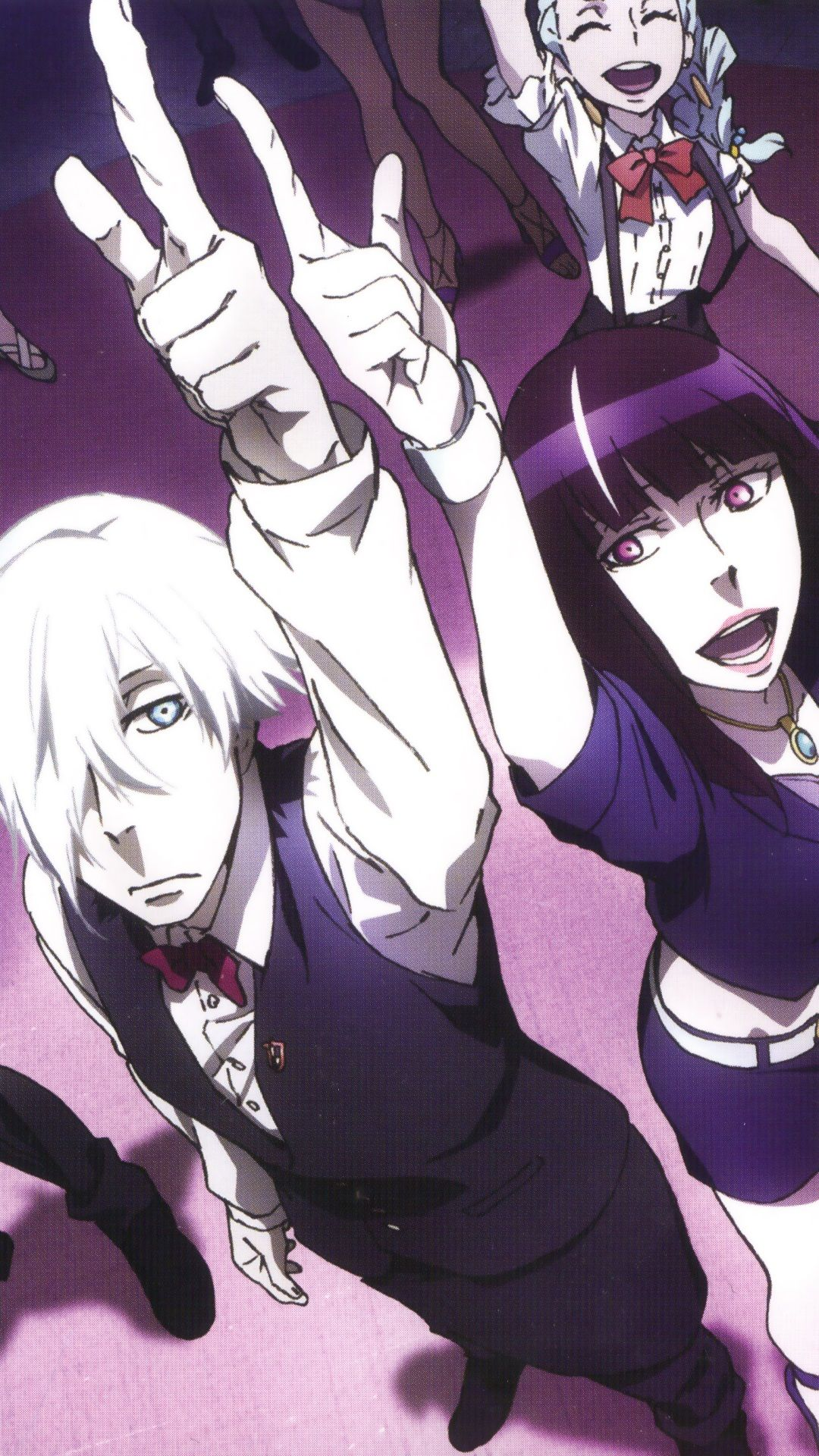 Death Parade Wallpapers Top Free Death Parade Backgrounds Wallpaperaccess