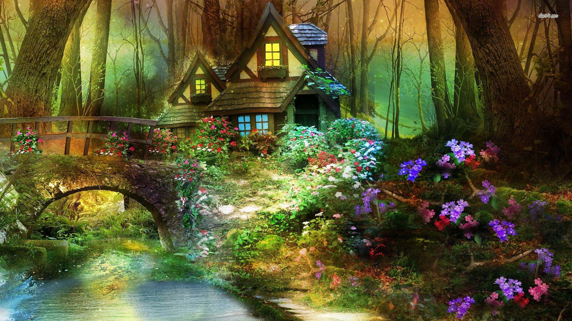 Enchanted Forest Wallpapers Top Free Enchanted Forest