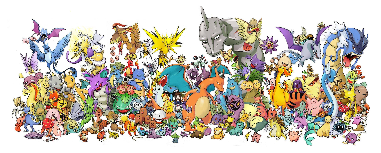 Original Pokemon Wallpapers Top Free Original Pokemon Backgrounds Wallpaperaccess
