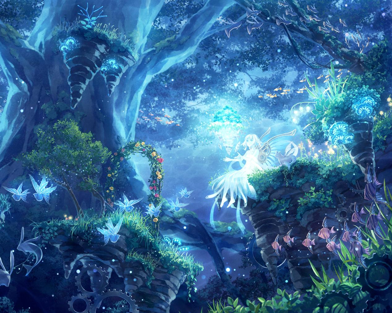 Magical Forest Wallpapers Top Free Magical Forest