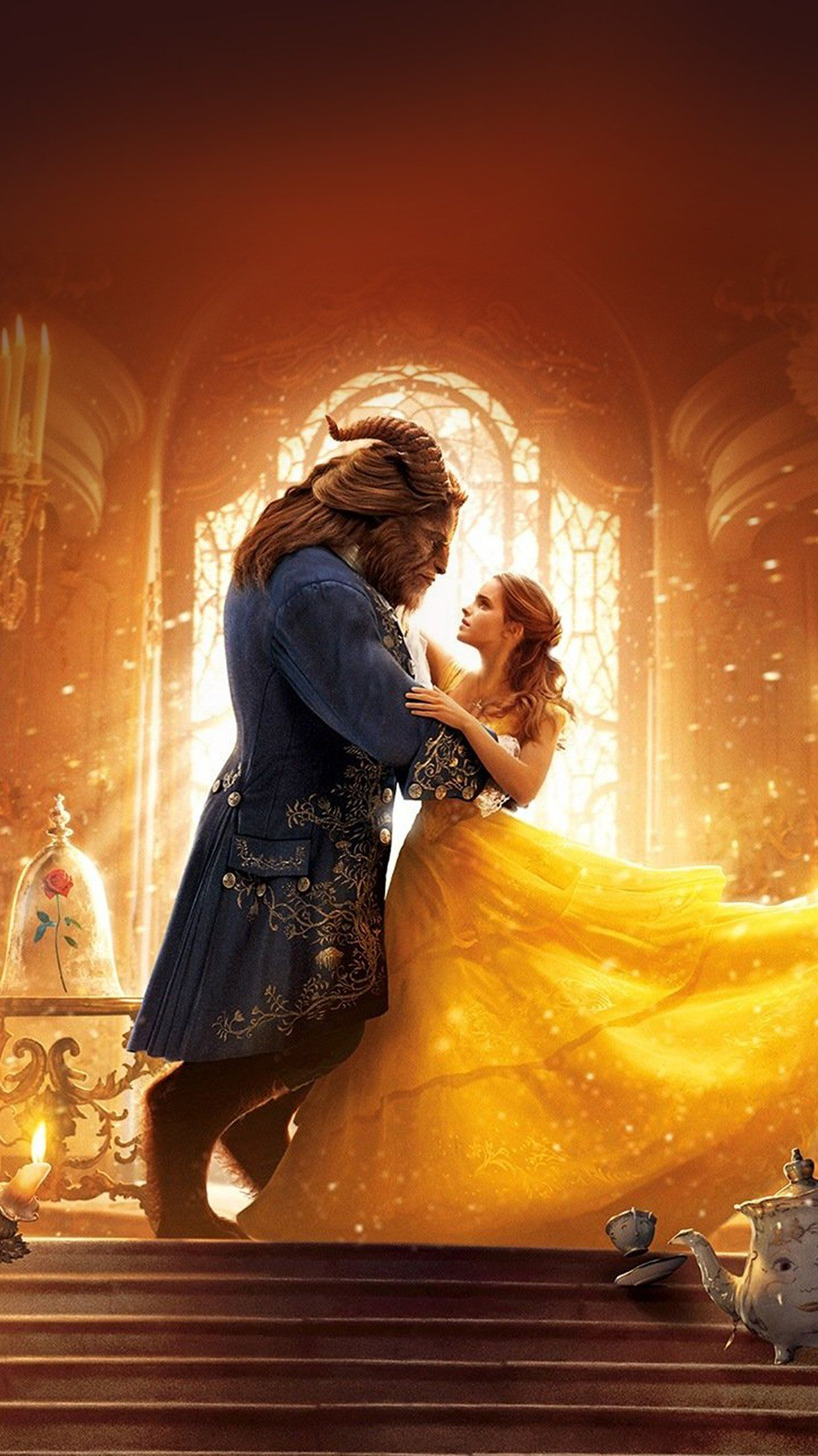 Beauty And The Beast Iphone Wallpapers Top Free Beauty And
