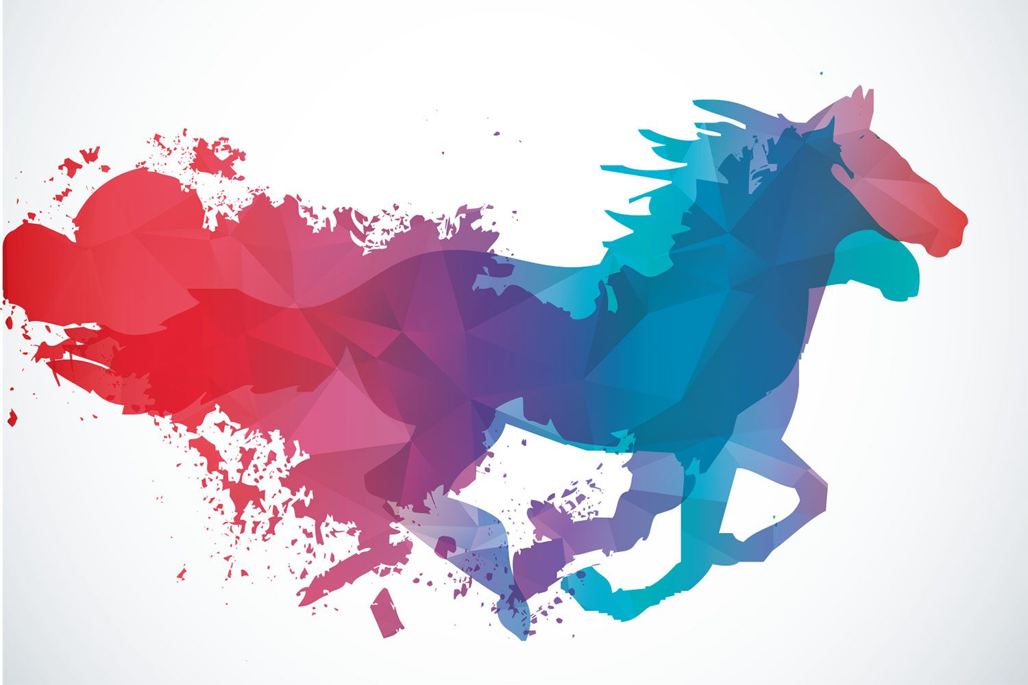 Abstract Horse Wallpapers Top Free Abstract Horse Backgrounds Wallpaperaccess