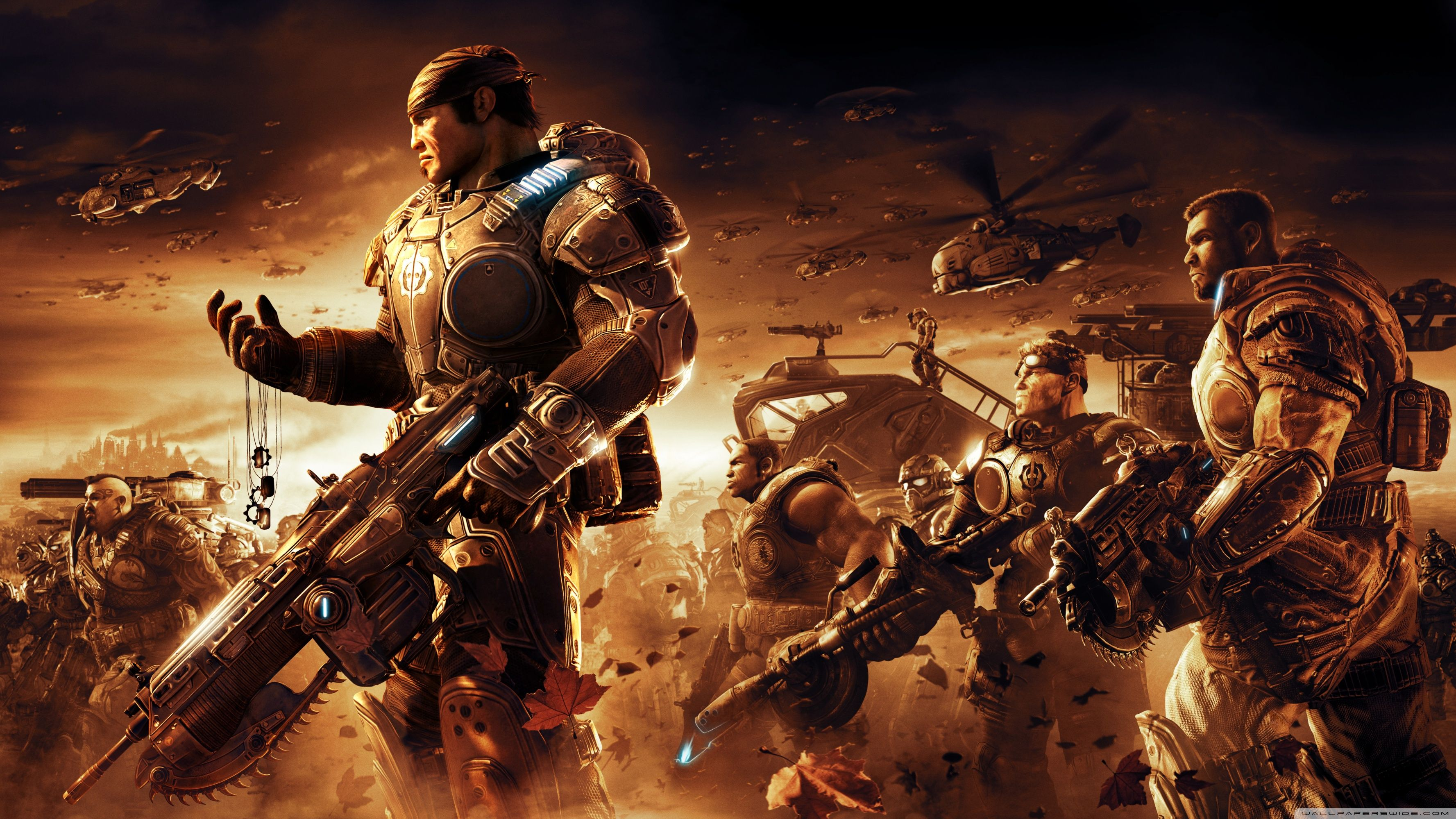 Gears Of War Wallpapers Top Free Gears Of War Backgrounds