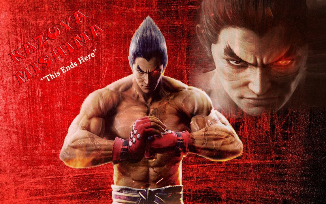 Kazuya Mishima Wallpapers Top Free Kazuya Mishima Backgrounds Wallpaperaccess