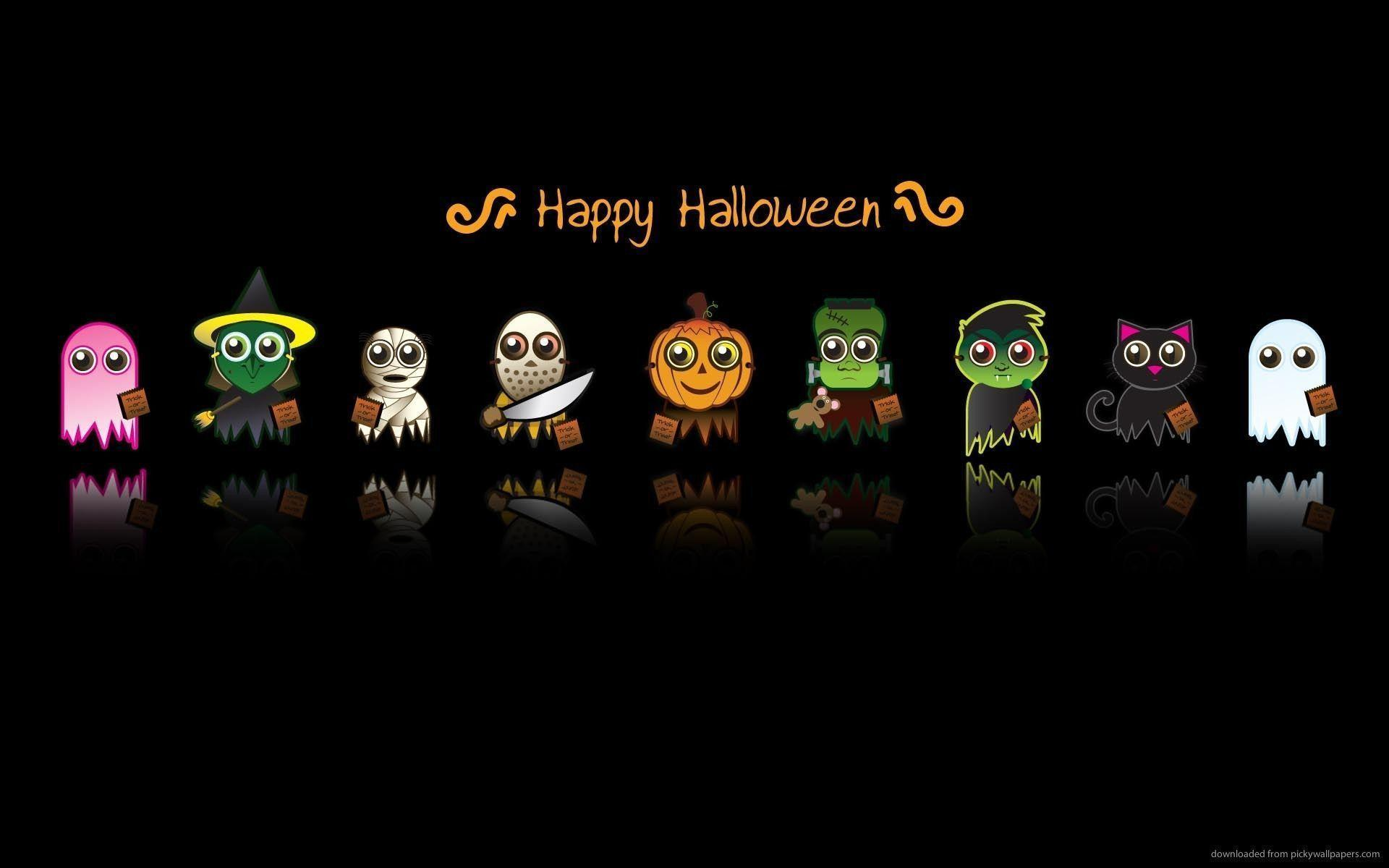 Cute Halloween Desktop Wallpapers , Top Free Cute Halloween