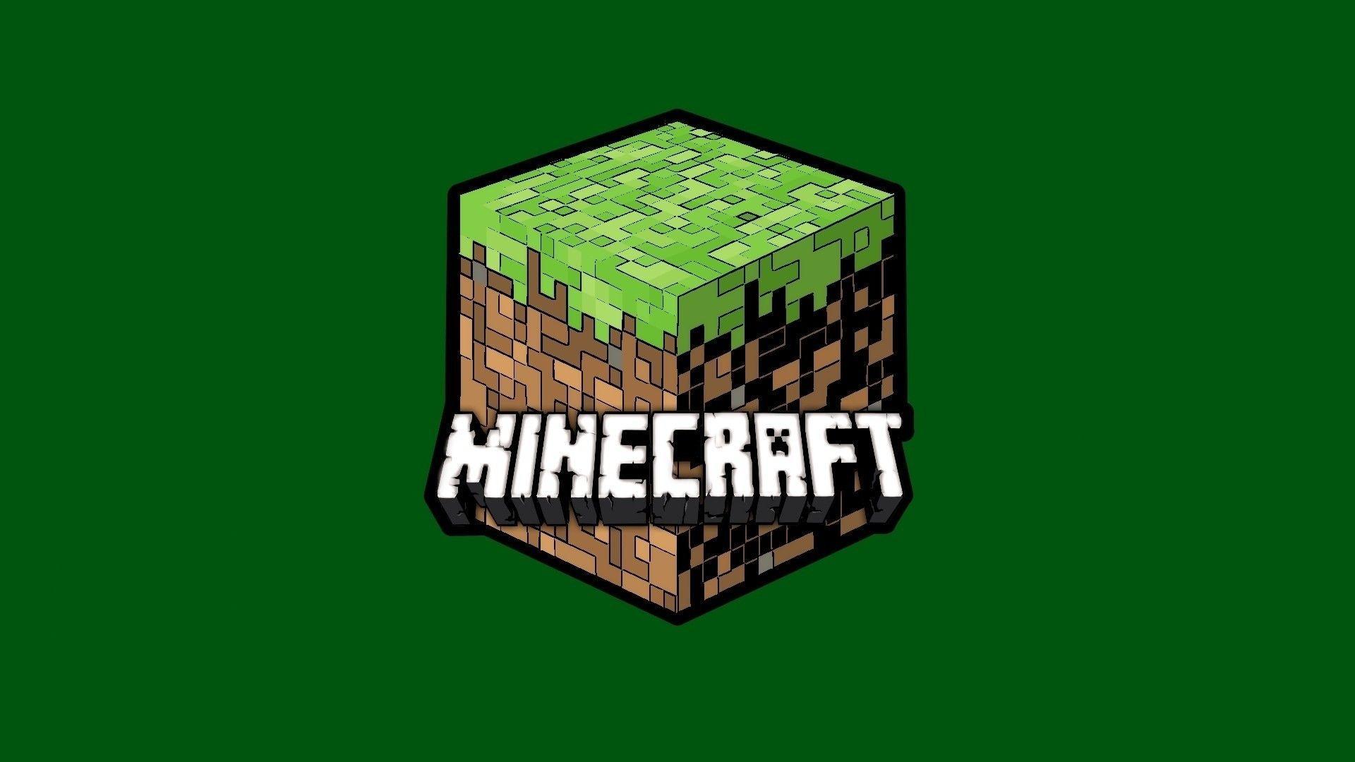 Minecraft Logo Wallpapers Top Free Minecraft Logo Backgrounds Wallpaperaccess