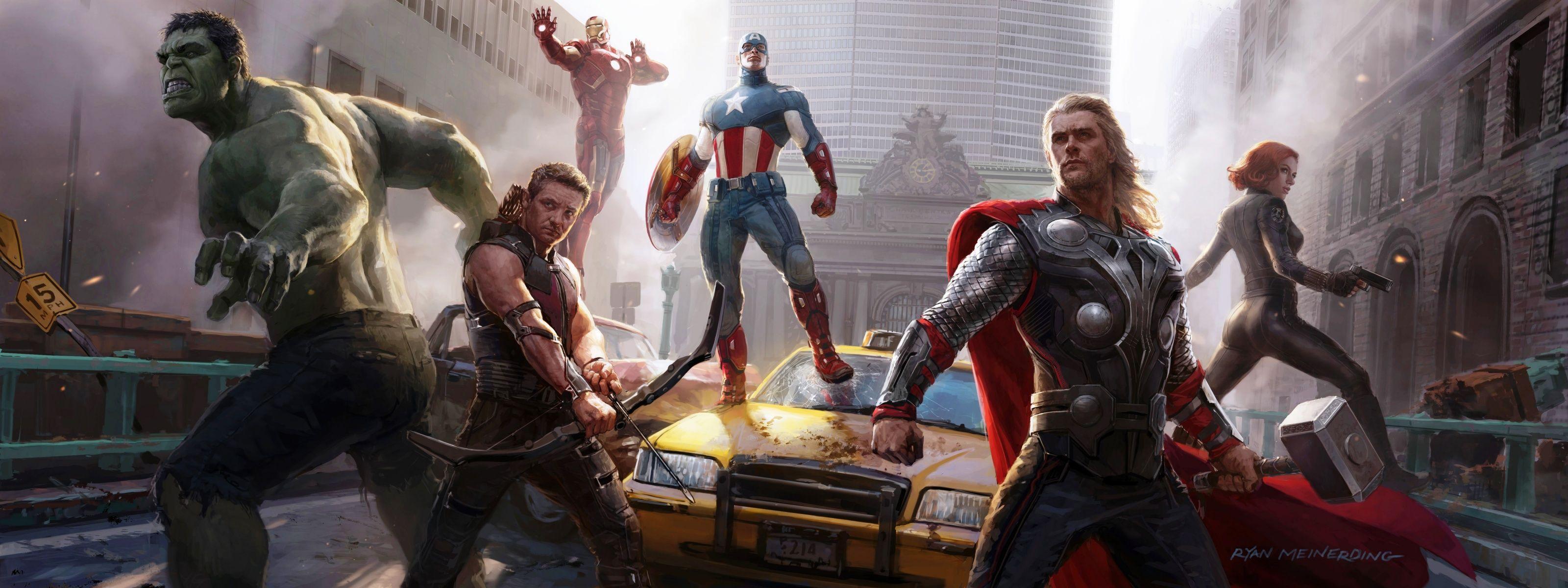 Marvel Dual Screen Wallpapers Top Free Marvel Dual Screen
