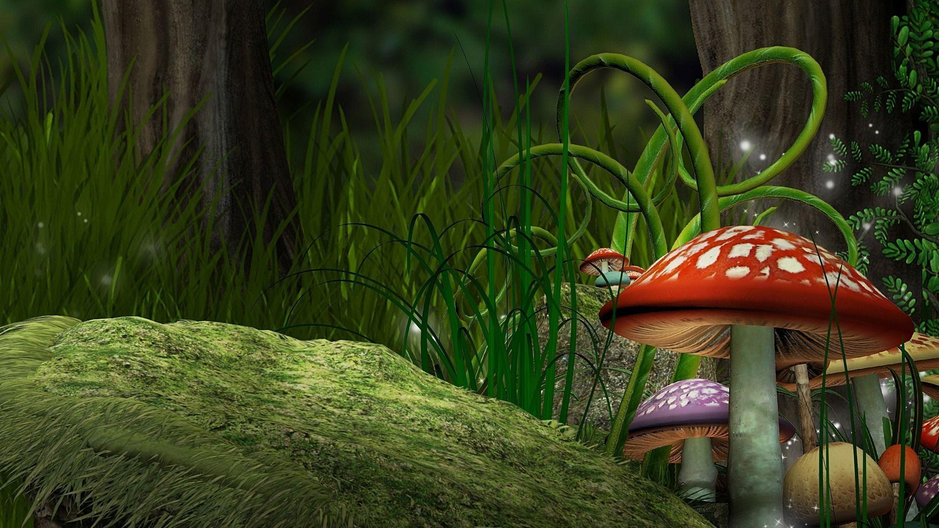 Cute Mushroom Wallpapers Top Free Cute Mushroom Backgrounds Wallpaperaccess